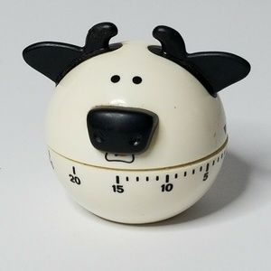 Kitchen Timer Cow 55 Minute Farm Animals Cooking